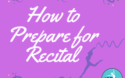 How to prepare for Recital